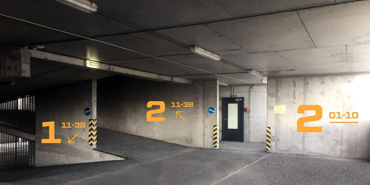 Оборудование для паркингов